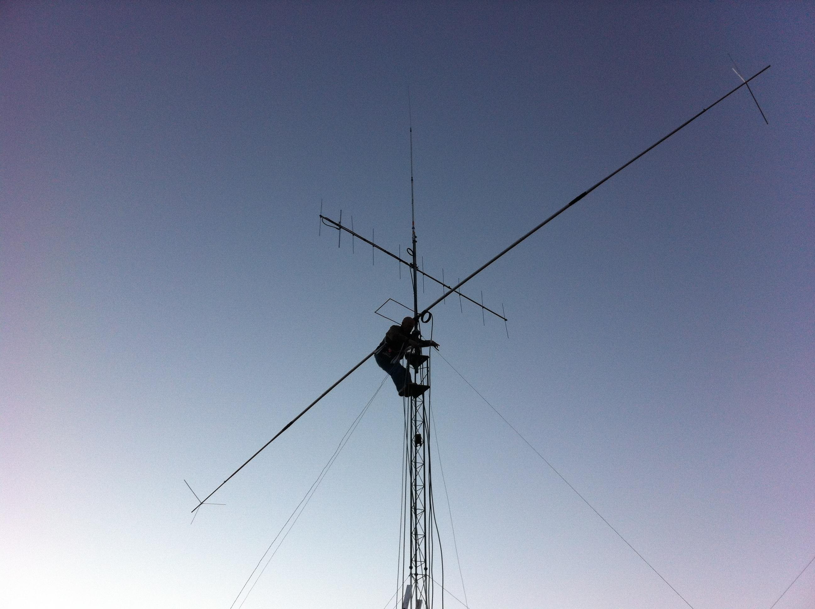 Antenas de EA4GIK