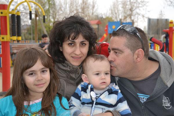 My family….