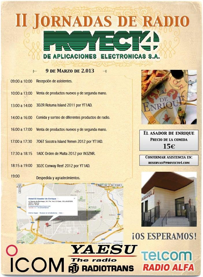 II Jornadas de Radio con Proyecto 4 (09/03/2013)