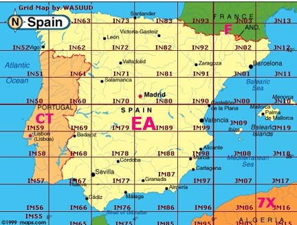 Mapa Locators