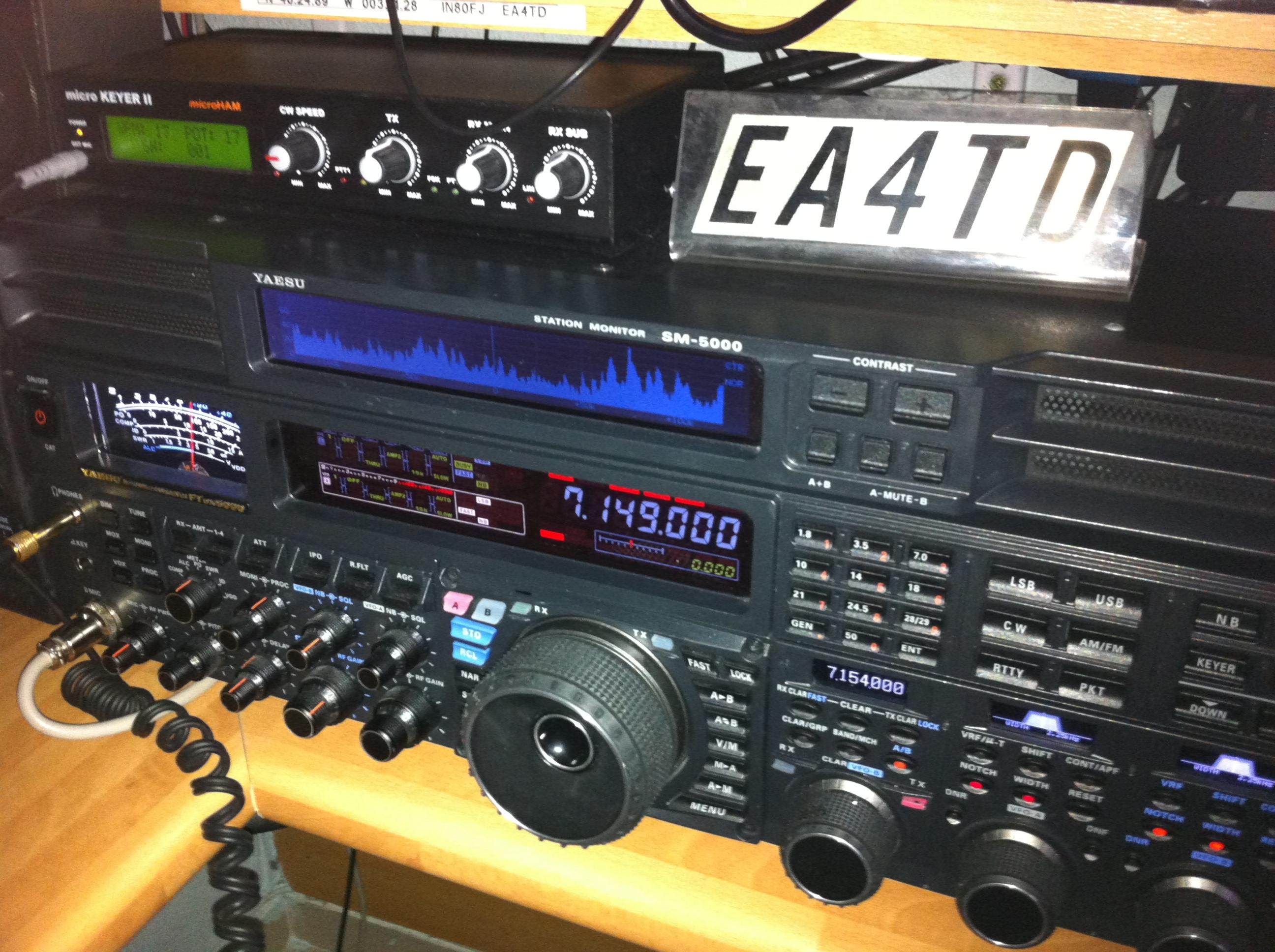 EA1YO & EA4TD