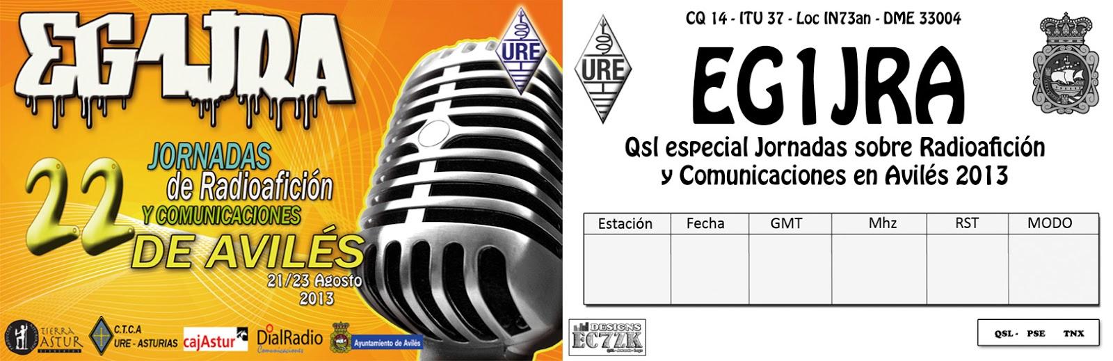 Jornadas de Radioafición Avilés 2.013