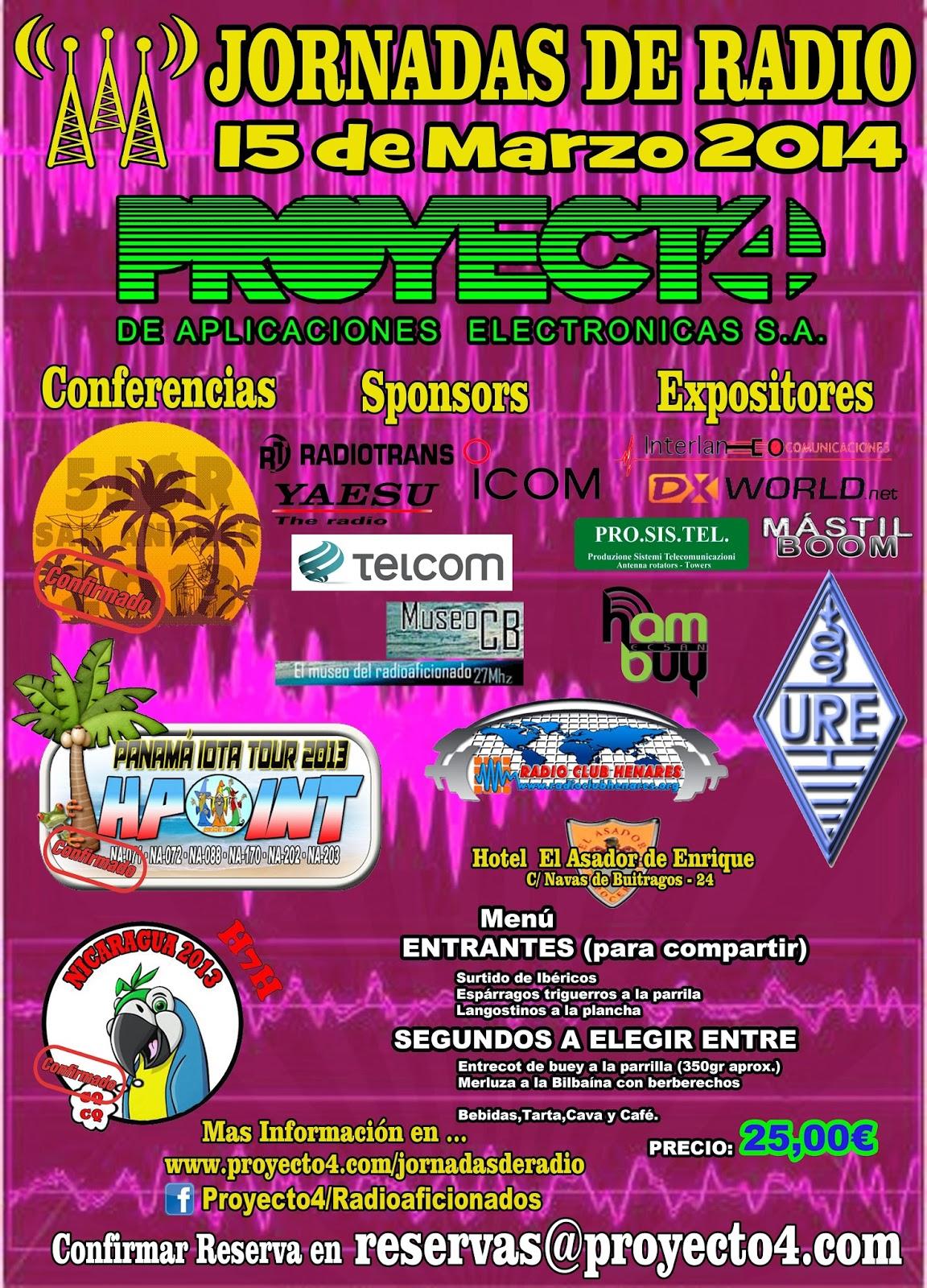 Jornadas de Radio Proyecto 4 2.014