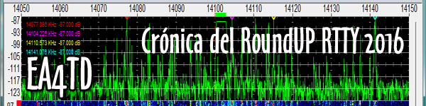 Crónica del RoundUP RTTY 2016