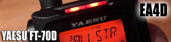 Yaesu FT-70D by EA4D