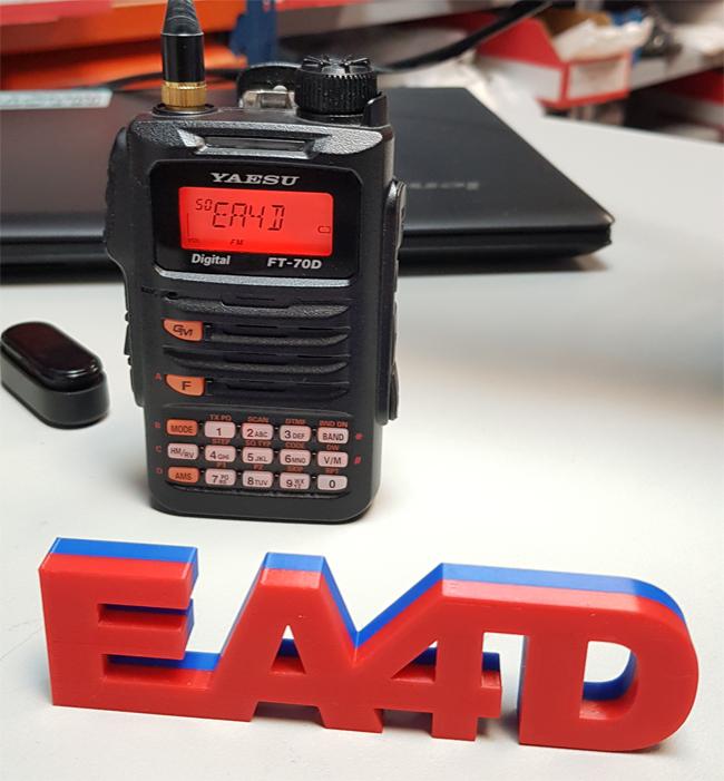 EA4D Yaesu FT-70D