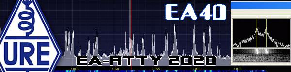 Concurso EA-RTTY 2020